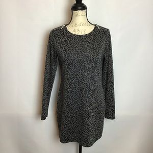 MICHAEL Michael Kors - Leopard Print Shift Dress